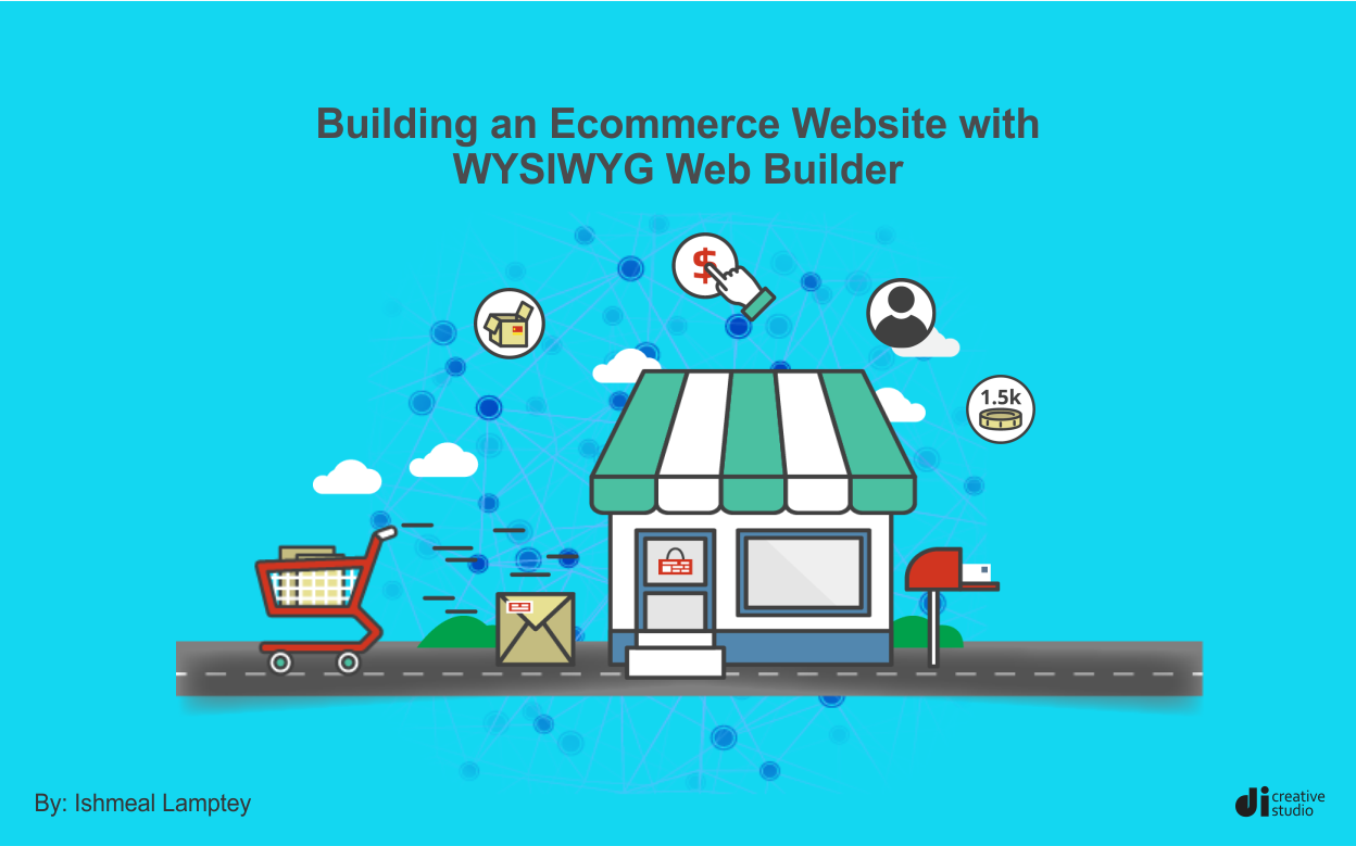Building an Ecommerce website with WYSIWYG Web Builder