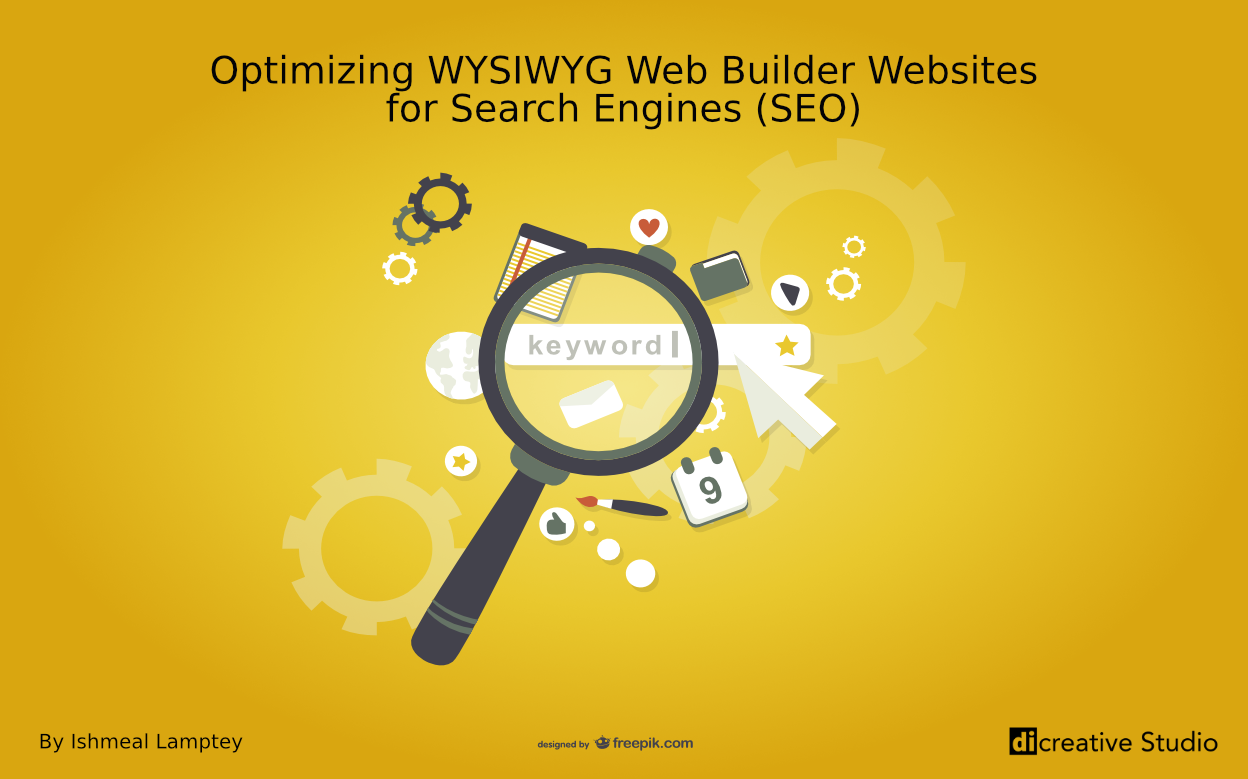 Optimizing WYSIWYG Web Builder Websites for Search Engines